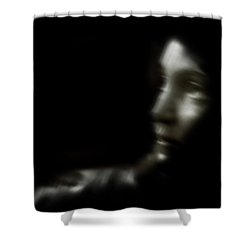 Displaced Shower Curtain