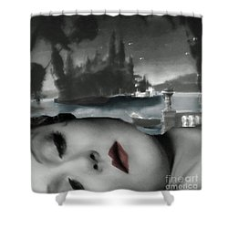 Distant Dreams Shower Curtain by Lyric Lucas