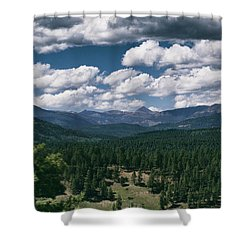 Distant Windows Shower Curtain
