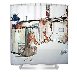 District 6 No 3 Shower Curtain by Tim Johnson