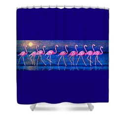 Diva Madness Shower Curtain by Susan DeLain