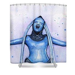 Diva Plavalaguna Fifth Element Shower Curtain