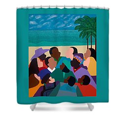 Diversity In Cannes Shower Curtain