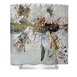 Shower Curtain featuring the painting Diversity by Joanne Smoley