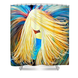 Divine Angel Shower Curtain