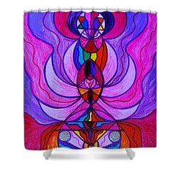Divine Feminine Activation Shower Curtain