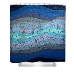 Divine Flow Shower Curtain