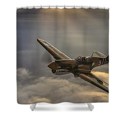 Divine Guidance Shower Curtain