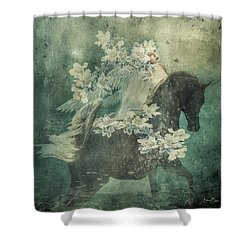 Divine Horse Whisperer Shower Curtain