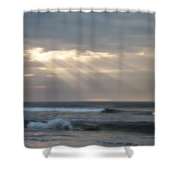 Divine Intervention Shower Curtain by Bill Cannon
