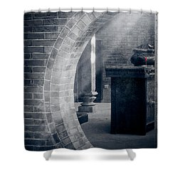 Divine Light Shower Curtain by Loriental Photography