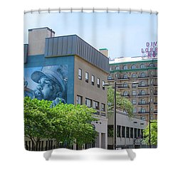Divine Lorraine - Salvation Shower Curtain by Bill Cannon