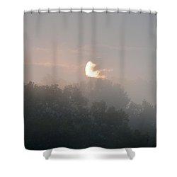 Divine Morning Blessings Shower Curtain