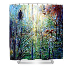 Divine Mother Earth Shower Curtain