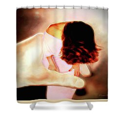 Divine Protection Shower Curtain