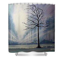 Divine Serenity Shower Curtain
