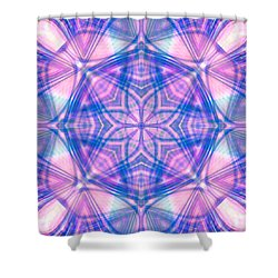 Divinely Encircled Shower Curtain