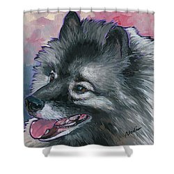 Dixie Shower Curtain by Nadi Spencer