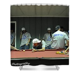 Dj Just Nick Photography Shower Curtain by Nicholas  Grunas
