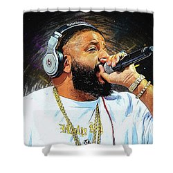 Dj Khaled Shower Curtain