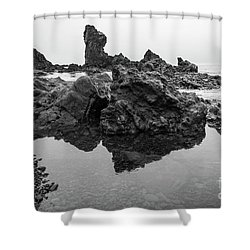 Djupalonssandur Beach Shower Curtain