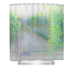 Do I Want To Leave The Garden Shower Curtain