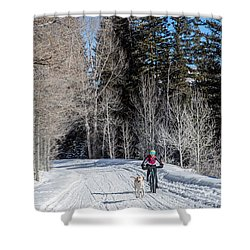 Do They Sell Snow Tires For Bikes Shower Curtain