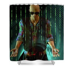 Shower Curtain featuring the digital art Do You Believe ...   In Fate? by Shadowlea Is