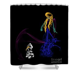 Do You Want To Build A Snowman Shower Curtain