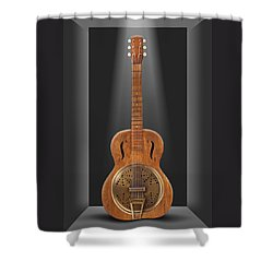Dobro In A Box Shower Curtain