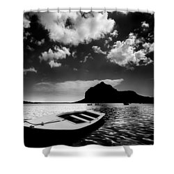 Docked Shower Curtain