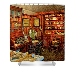 Doctors Office Shower Curtain by Dave Mills