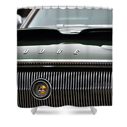 Dodge Charger Hood Shower Curtain