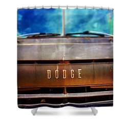 Dodge In Town Shower Curtain