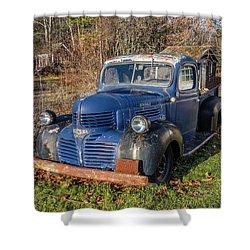 Dodge Pickup Shower Curtain