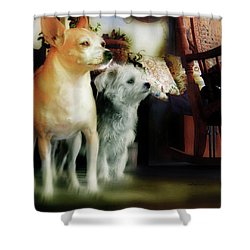 The Real Chiqui And Heichel Shower Curtain