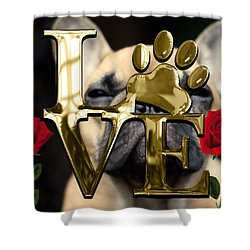 Dog Lover Collection Shower Curtain