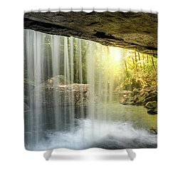 Dog Slaughter Falls Shower Curtain