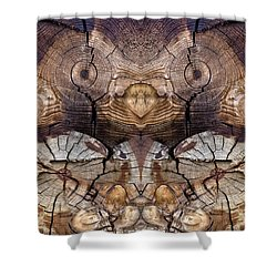 Dog-wood Owl Shower Curtain