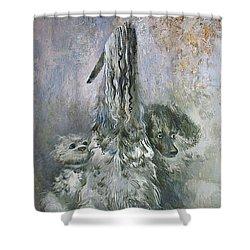 Doggies  Shower Curtain