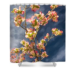 Dogwood 5 Shower Curtain