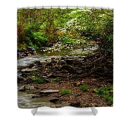 Dogwood At The Bend Shower Curtain