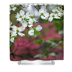 Dogwood Days Shower Curtain