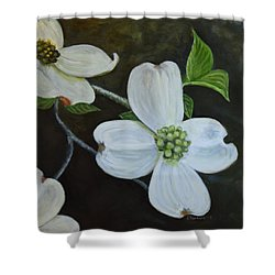 Dogwood Dream Shower Curtain