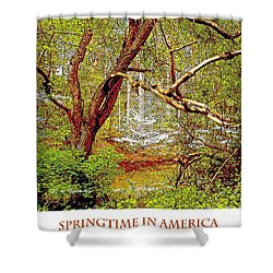 Shower Curtain featuring the photograph Dogwood Tree In Spring by A Gurmankin