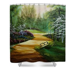 Dogwoods In Springtime Shower Curtain