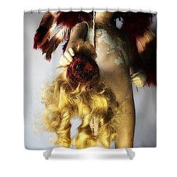 Doll Scalper Shower Curtain