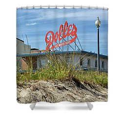Shower Curtain featuring the photograph Dolles Candyland - Rehoboth Beach Delaware by Brendan Reals