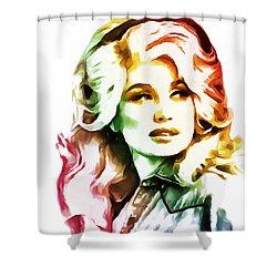 Dolly Parton Shower Curtain