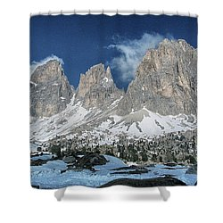 Dolomites 1 Shower Curtain